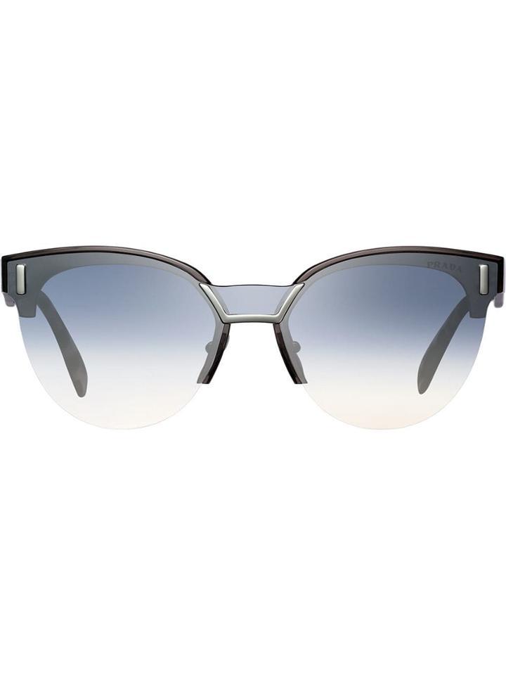 Prada Eyewear Prada Hide Eyewear Sunglasses - Brown