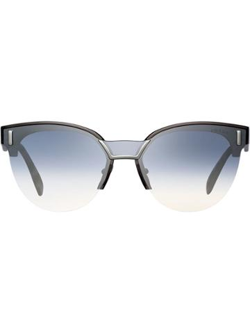 Prada Eyewear Prada Hide Eyewear Sunglasses - Brown