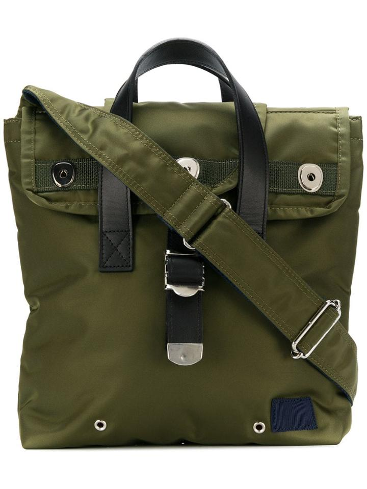 Sacai Military Messenger Bag - Green