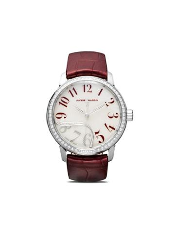 Ulysse Nardin Classico Jade 37mm - White Mop / Red Arab Fig.