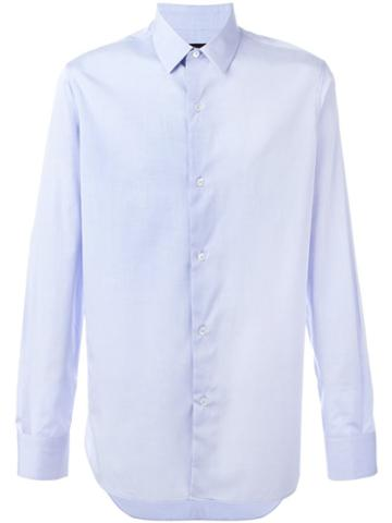 Ann Demeulemeester Grise 'nube' Shirt, Men's, Size: Small, Blue, Cotton