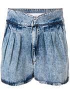 Iro Loyal Denim Shorts - Blue