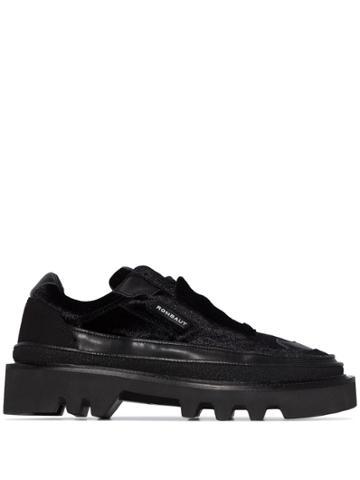 Rombaut Protect Hybrid Velvet Sneakers - Black