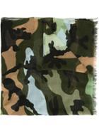 Valentino Garavani Camouflage Light Scarf