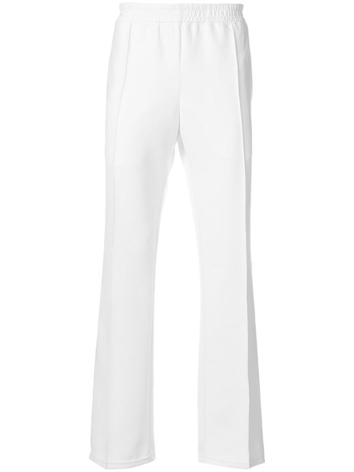 Faith Connexion Flared Track Pants - White