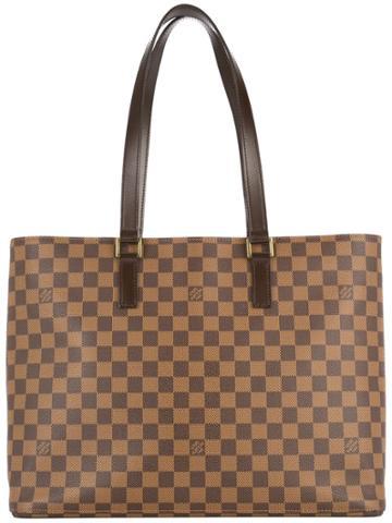 Louis Vuitton Vintage Luco Shoulder Tote Bag - Brown