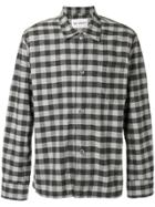 Our Legacy Gingham Flannel Shirt - Grey