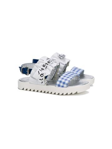 Simonetta Bow Detail Sandals - White