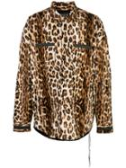 Mastermind World Leopard-print Shirt - Brown