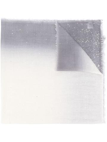Faliero Sarti Sequin Detail Scarf - Grey
