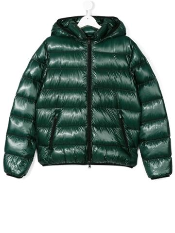 Herno Kids - Padded Jacket - Kids - Polyamide/spandex/elastane/feather Down/polyester - 14 Yrs, Green