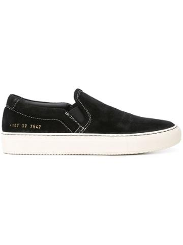 Common Projects Slip On Sneakers - Black