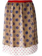 Kolor Polka Dot Skirt