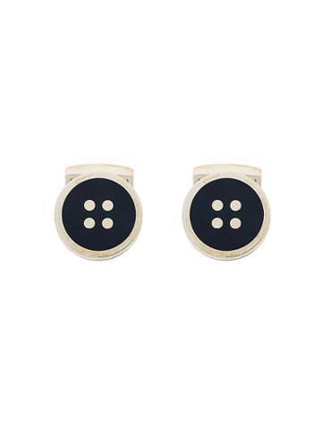 Hackett Button Cufflinks - Metallic