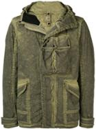 Cp Company Goggle Hooded Military Jacket - Green
