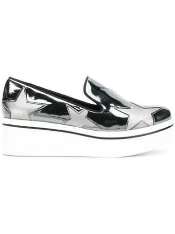 Stella Mccartney Indium Star Binx Sneakers - Metallic