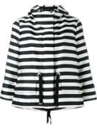 Moncler Hooded Striped Jacket