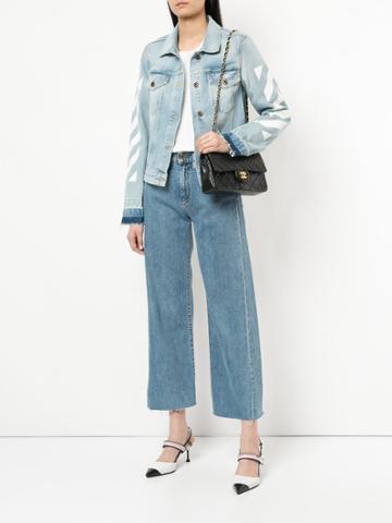 Chanel Vintage Classic Flap 23 Shoulder Bag - Black