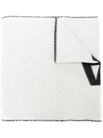 Balenciaga Balenciaga Macro Scarf - White