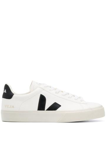 Veja Side Logo Sneakers - White