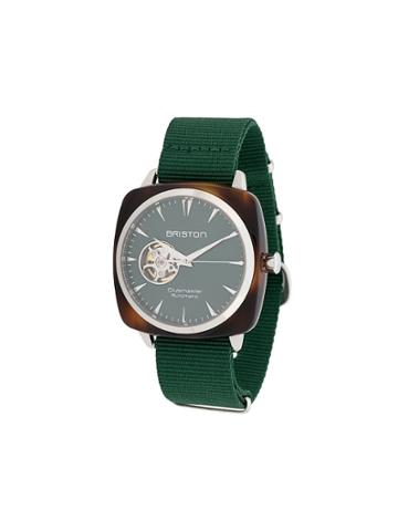 Briston Watches Clubmaster Iconic Watch - Green
