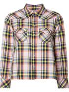 Mother Plaid Shirt