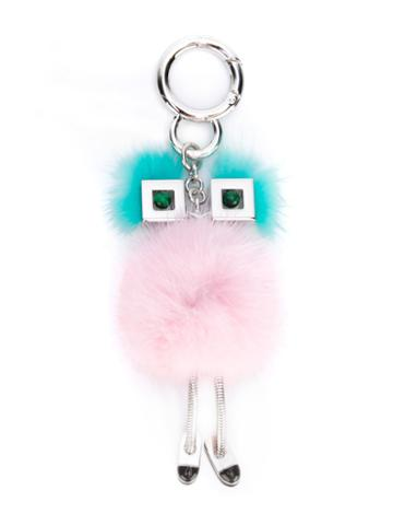 Fendi - Chick Bag Charm - Women - Mink Fur/metal - One Size, Women's, Mink Fur/metal