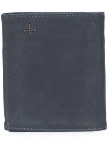 Ma+ Foldover Soft Wallet - Blue
