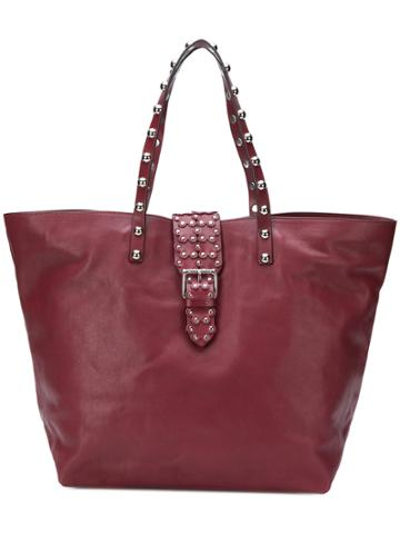 Red Valentino Studded Oversized Tote