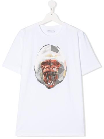 Marcelo Burlon County Of Milan Kids Teen Graphic Gorilla T-shirt -