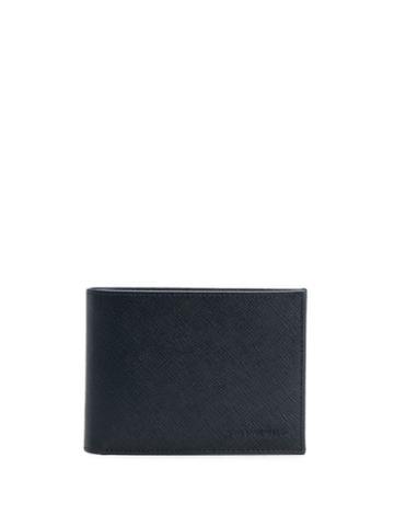 Karl Lagerfeld Leather Card Holder - Blue