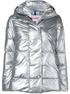 Invicta Hooded Padded Jacket - Silver