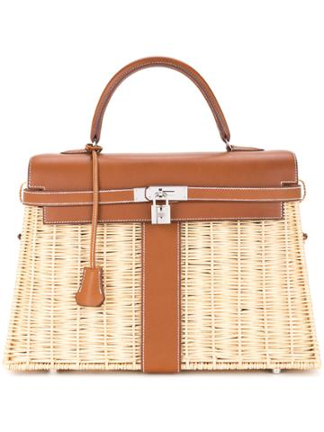 Hermès Vintage Kelly Picnic Bag - Brown