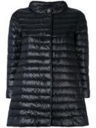 Herno Midi Padded Coat - Black