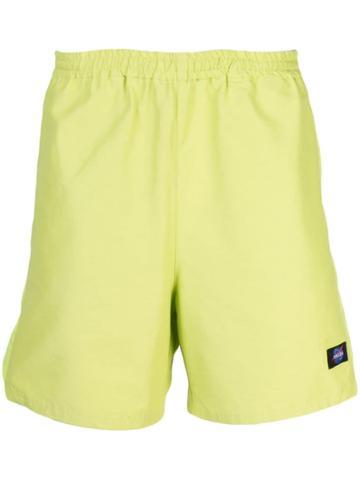 Childs Track Logo Shorts - Green