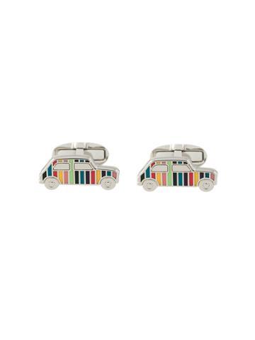 Paul Smith Enamelled Car Cufflinks - Multicolour