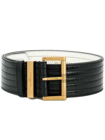 Givenchy Ribbed Belt - Black
