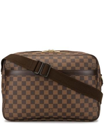 Louis Vuitton Pre-owned Reporter Gm Crossbody Bag - Brown