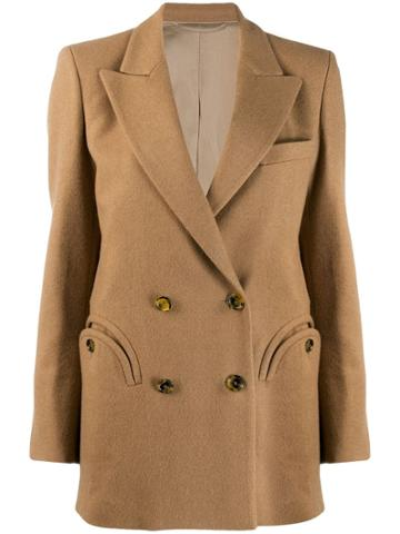 Blazé Milano Double-breasted Blazer - Neutrals