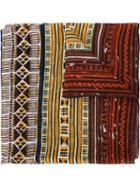 Valentino Tribal Print Scarf