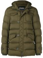 Herno Short Padded Coat - Green