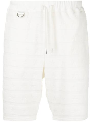 Roar Drawstring Shorts - White