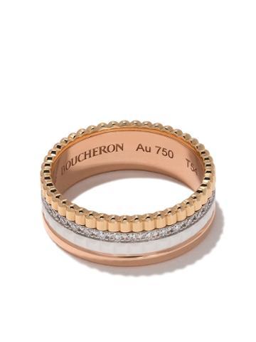 Boucheron Mixed Band Ring - 3g