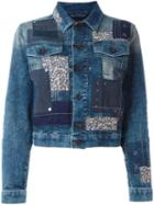 Diesel Patchwork Denim Jacket
