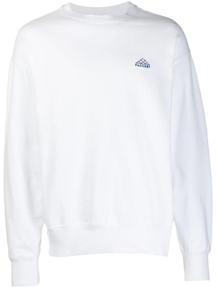 Rassvet Logo Sweater - White