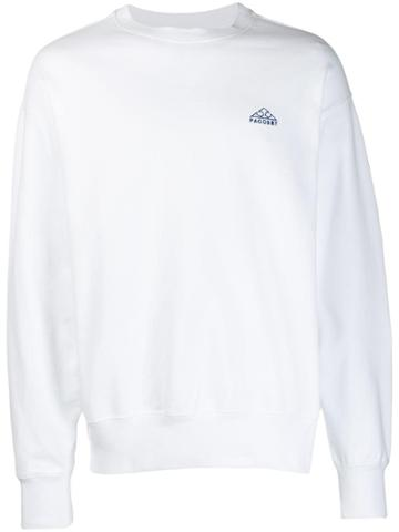 Rassvet Logo Sweater - White