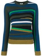 Kenzo Broken Stripes Jumper - Multicolour
