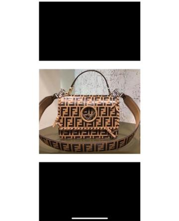 Fashion Concierge Vip Fendi - Fendi Kan I Bag Logo - Unavailable