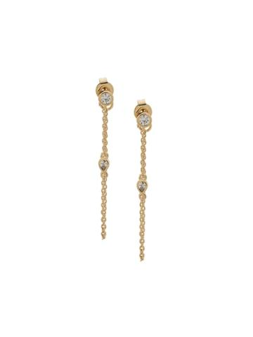 Federica Tosi Chain Pendant Earrings - Gold