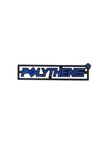 Polythene* Optics Logo Pin - Blue